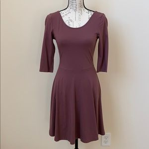 Express Maroon Dress